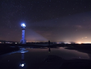 Faro de lo Fangar, Delta del'Ebre